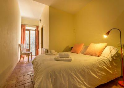 Bedroom 2 Queen Bed with En Suite Bathroom and French Doors