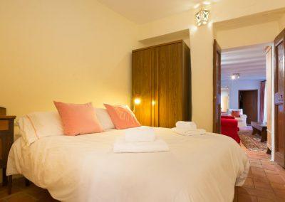 Bedroom 2 with Queen Bed En Suite Bathroom View to Sitting Area