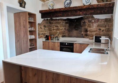 New Kitchen to shelves